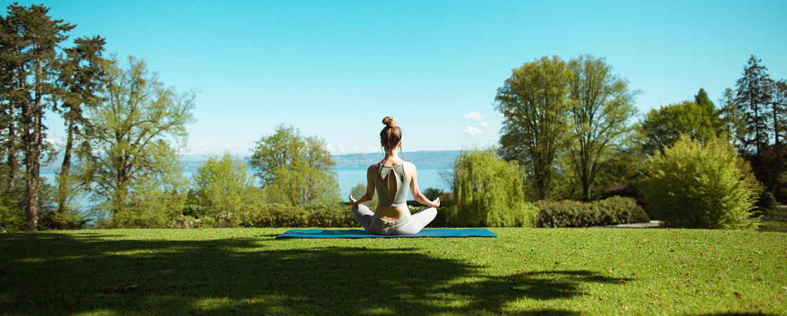 Wellness badend in luxe, in Evian